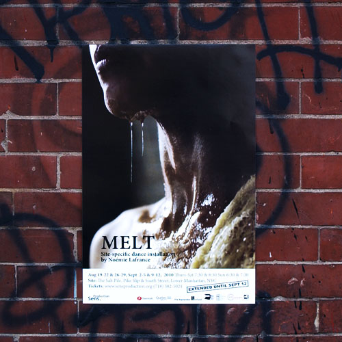 Poster of the Melt Performance